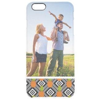 Kundenspezifisches Foto-geometrische Ananas Durchsichtige iPhone 6 Plus Hülle