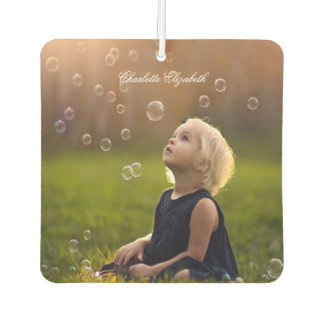 Kundenspezifisches Foto, niedlich, personalisiert Lufterfrischer