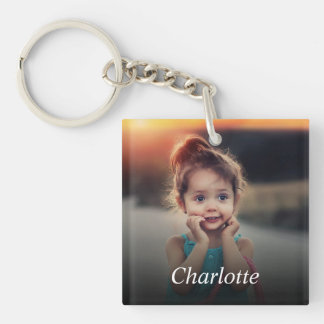 Kundenspezifisches Foto Schlüsselanhänger