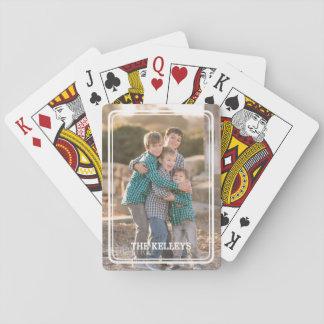 Kundenspezifisches Foto-Spielkarten Spielkarten