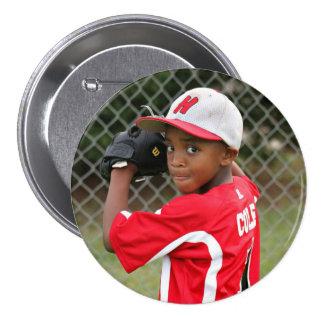 Kundenspezifisches Foto trägt Knopf/Button zur Runder Button 7,6 Cm