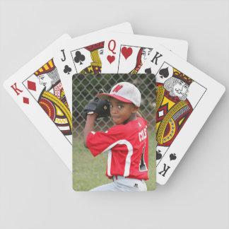 Kundenspezifisches Foto trägt Spielkarten - großes