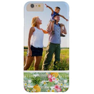 Kundenspezifisches Foto-tropische Blumen u. Barely There iPhone 6 Plus Hülle