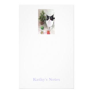 Kundenspezifisches Foto und Name stationär Briefpapier