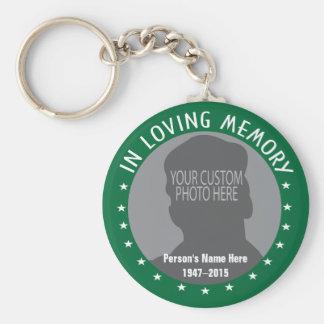 Kundenspezifisches Foto und Sterne des Schlüsselanhänger