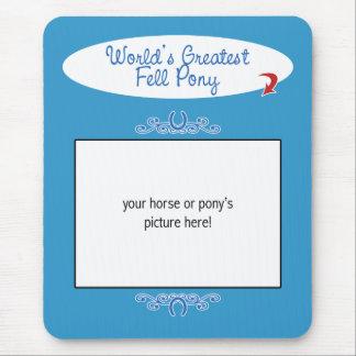Kundenspezifisches Foto! Weltbest fiel Pony Mousepad