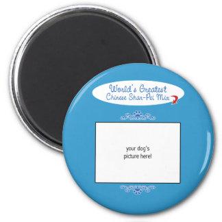 Kundenspezifisches Foto! Weltbeste Chinese Runder Magnet 5,1 Cm