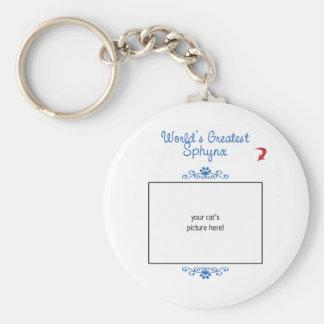 Kundenspezifisches Foto! Weltbestes Sphynx Schlüsselanhänger