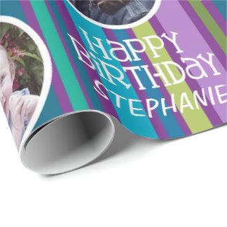 Kundenspezifisches Foto-wunderliche u. bunte Einpackpapier