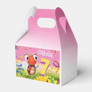 Kundenspezifisches Geburtstags-Partykastenmädchen Geschenkschachtel
