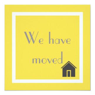 Kundenspezifisches Gelb haben wir bewegliche Karte