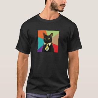 Kundenspezifisches Geschäfts-Katzen-Shirt T-Shirt