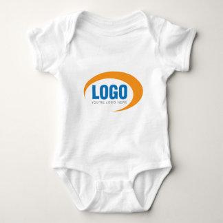 Kundenspezifisches Geschäfts-Logo Baby Strampler