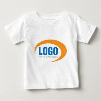 Kundenspezifisches Geschäfts-Logo Baby T-shirt