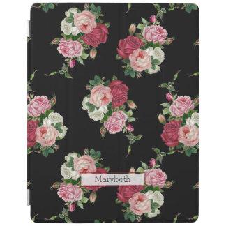 Kundenspezifisches hübsches Girly schwarzes iPad Hülle