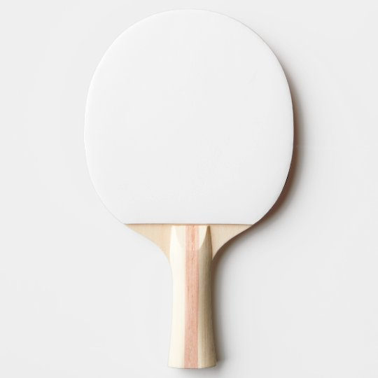 Ping Pong Paddle, Roter Gummi Back