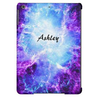Kundenspezifisches lila blaues Galaxie-iPad Air iPad Air Hülle