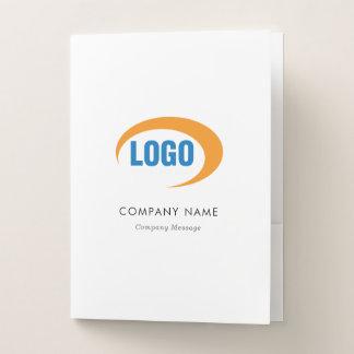 Kundenspezifisches Logo Mappe
