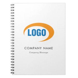 Kundenspezifisches Logo Spiral Notizblock