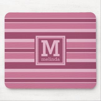 Kundenspezifisches mousepad Monogramm des