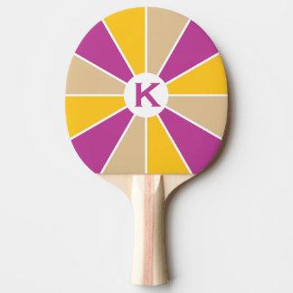Kundenspezifisches Paddel pong Klingeln des Tischtennis Schläger