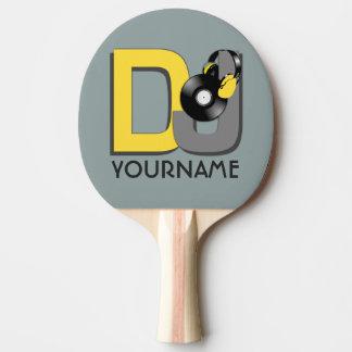 Kundenspezifisches Paddel pong Klingeln DJ Tischtennis Schläger