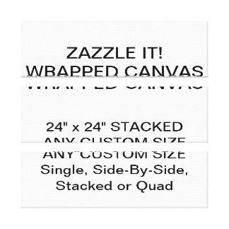 """Kundenspezifisches personalisiertes 24"""" x24"""" leinwanddruck"""