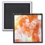 Kundenspezifisches personalisiertes Foto-Geschenk Kühlschrankmagnet