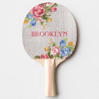 Kundenspezifisches personalisiertes Ping Pong mit Tischtennis Schläger