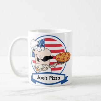 Kundenspezifisches Pizza-Geschenk Kaffeetasse