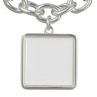 Kundenspezifisches quadratisches Charme-Armband Armbänder