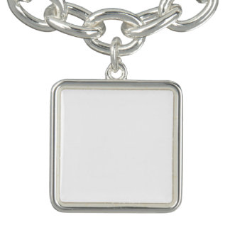 Kundenspezifisches quadratisches Charme-Armband Charm Armband