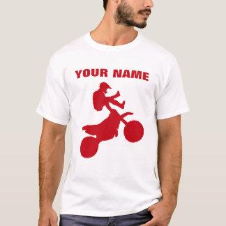 KUNDENSPEZIFISCHES ROT MOTORCROSS T-Shirt