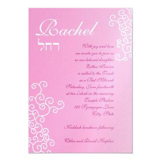 Kundenspezifisches Schimmer-Papier Rachel Personalisierte Ankündigungskarten