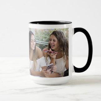 Kundenspezifisches Schwarzes 15 Foto der Tasse