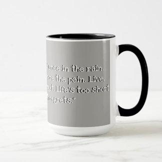 Kundenspezifisches Schwarzes 15 Unze-Wecker-graue Tasse