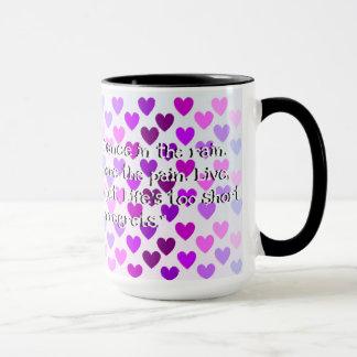 Kundenspezifisches Schwarzes 15 Unze-Wecker-Tasse Tasse