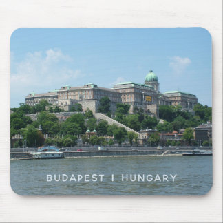 Kundenspezifisches Text Budapests mousepad 1