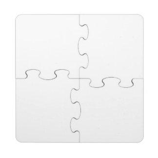 Kundenspezifisches Untersetzer-Puzzlespiel Puzzle Untersetzer