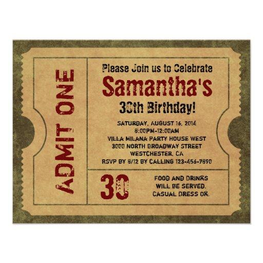 Kundenspezifisches Vintages Gold lassen die eine Einladungskarten