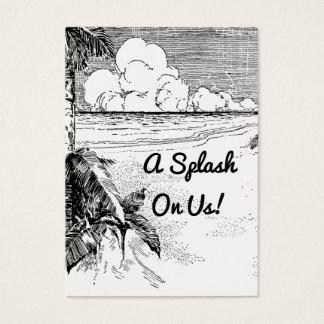 Kundenspezifisches Vintages Visitenkarte