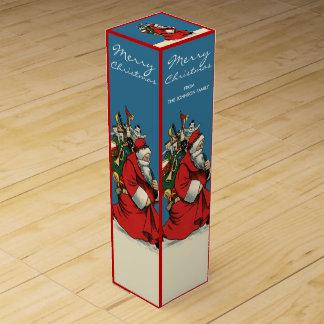 Kundenspezifisches Vintages Wein-Geschenkverpackung
