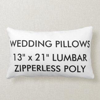 Kundenspezifisches Wedding Zipperless Lendenkissen