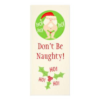 Kundenspezifisches Weihnachtsfreche Sankt-Party Ankündigungskarten