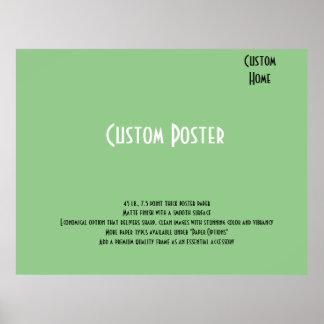 Kundenspezifisches Zuhause-Plakat Poster