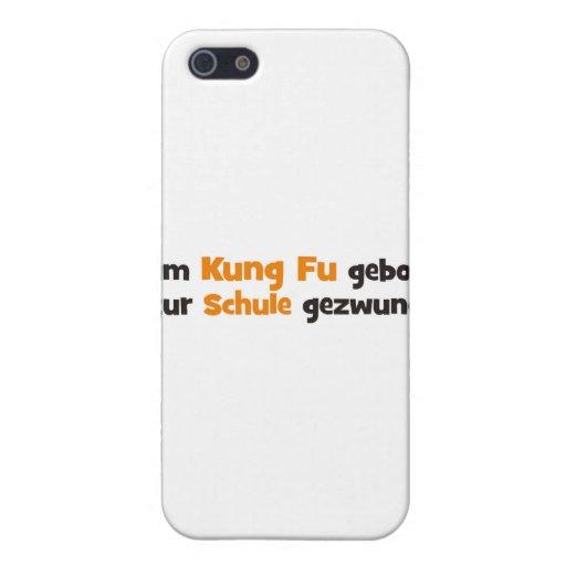 Kung Fu iPhone 5 Etui