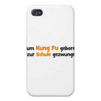 Kung Fu iPhone 4 Cover