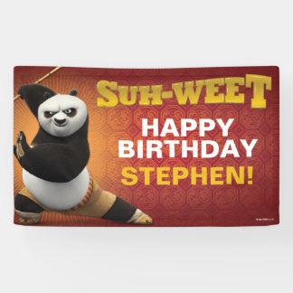 Kung Fu Kriegers-Geburtstag Panda-| PO Banner