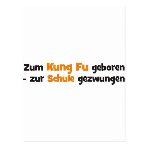 Kung Fu Postkarten