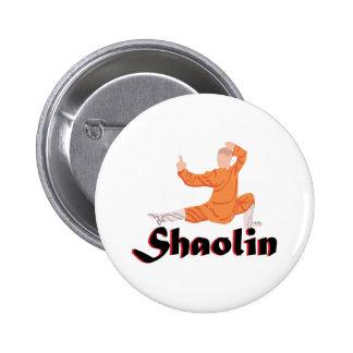 Kung Fu Shaolin Runder Button 5,1 Cm